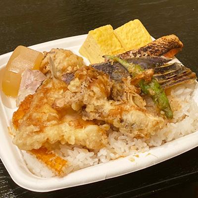 永源寺舞茸の天丼弁当